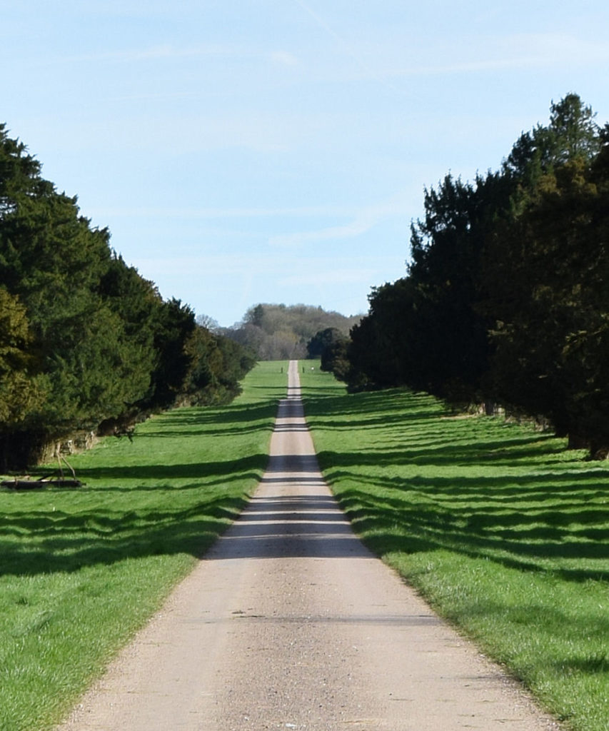 The Avenue - a private road in Chilton Candover