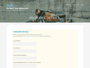 Sample websites - Used motorbike dealers in Hampshire