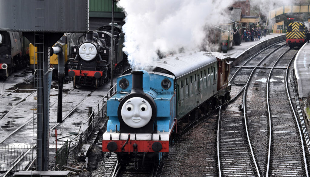 Thomas at Ropley, Hampshire