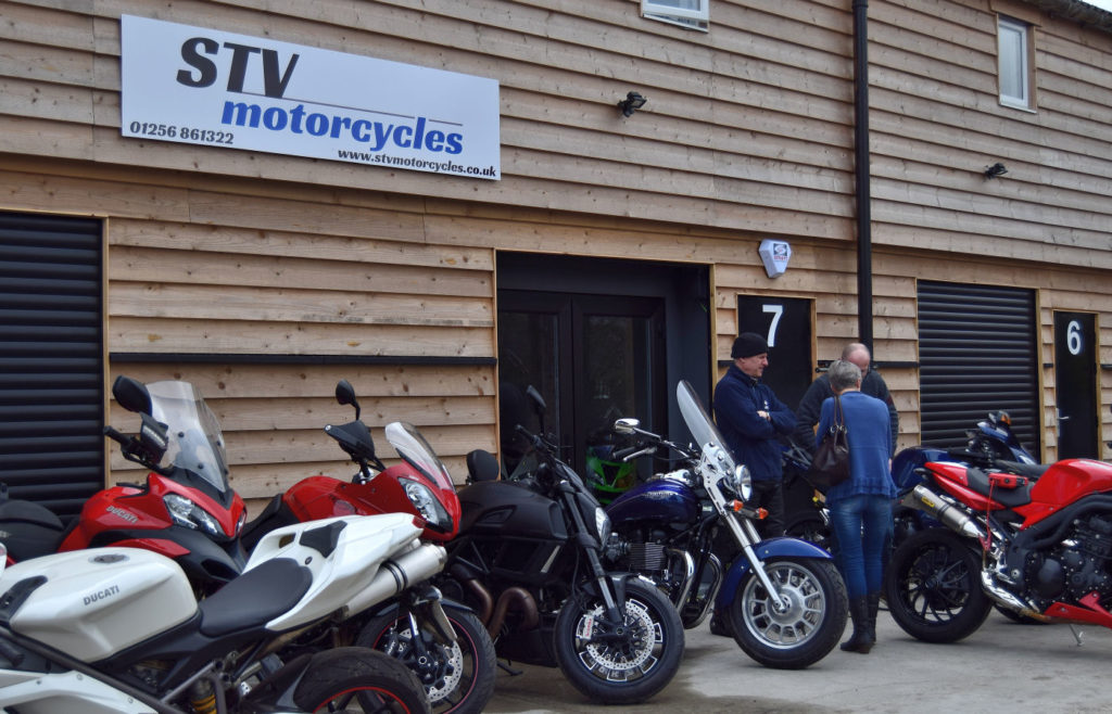 STV Motorcycles - used Motorbike dealer, Hampshire
