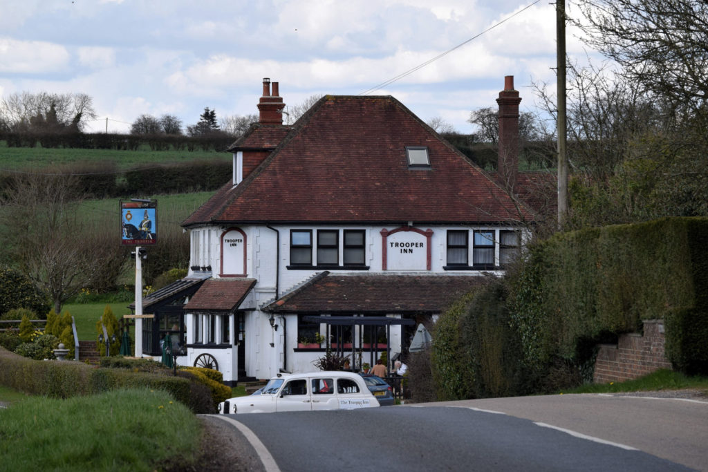 The Trooper Inn, Froxfield Hampshire