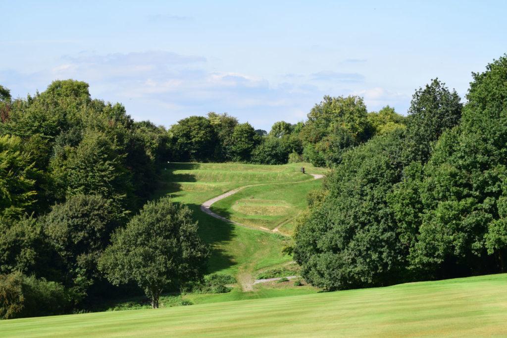 Alton Golf Club - 4th fairway back towards the tee