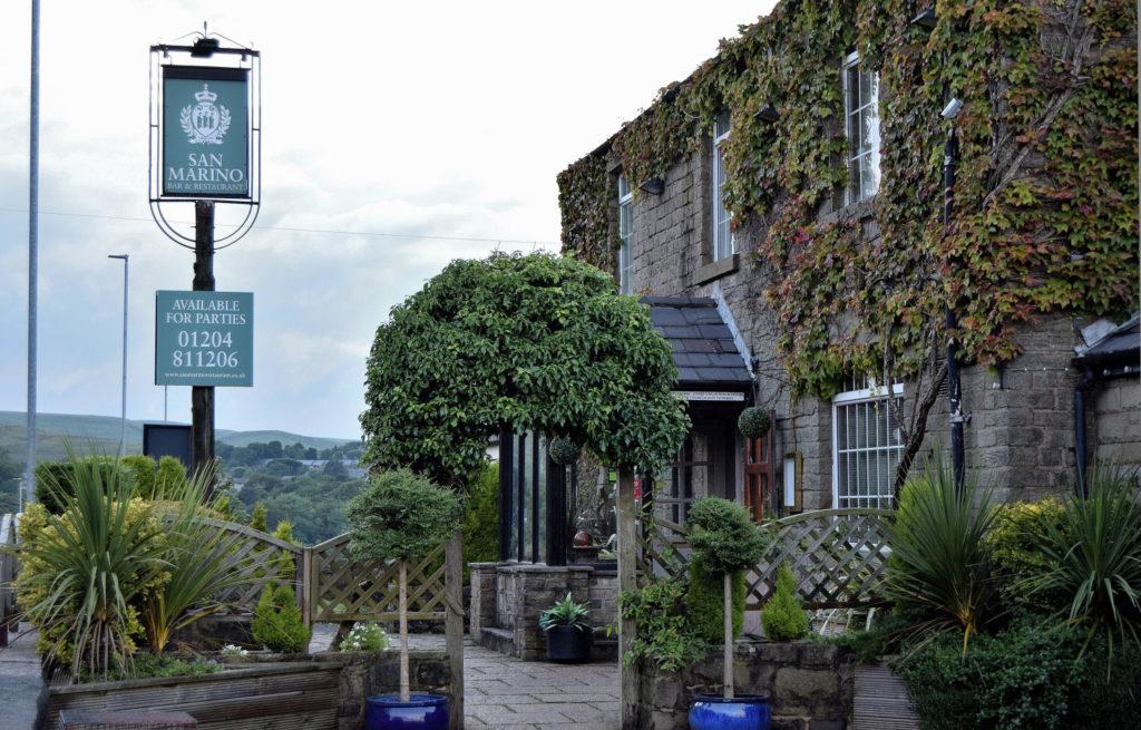 San Marino Restaurant, Winter Hill, Bolton, Lancashire