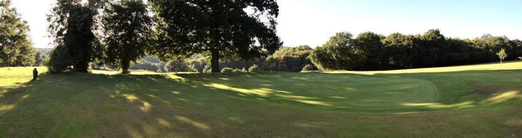 Alton Golf Club - 1st green