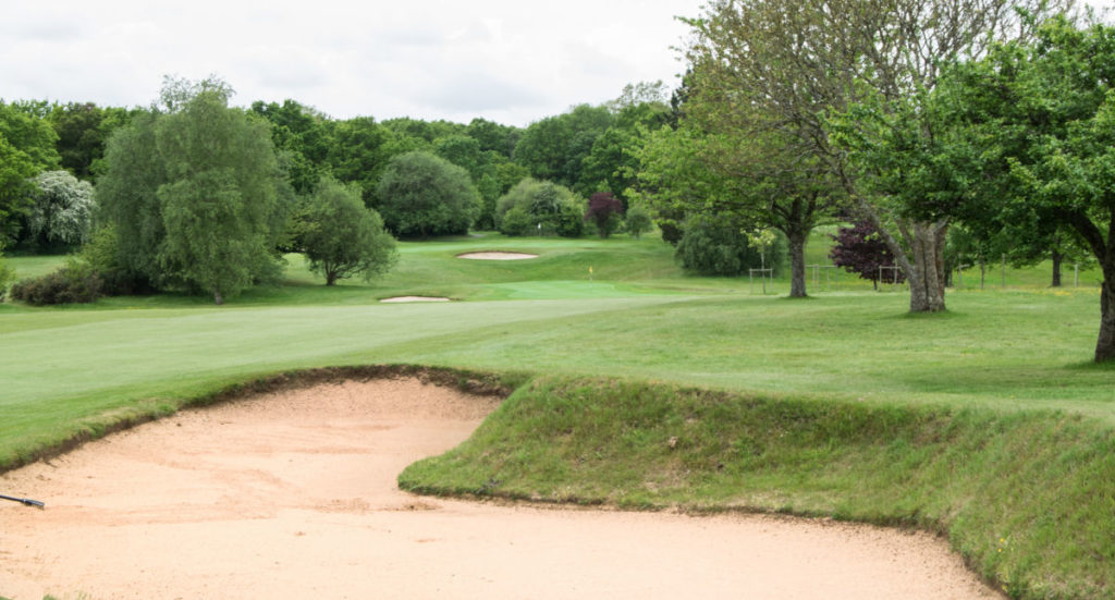 The bunker on the 8th