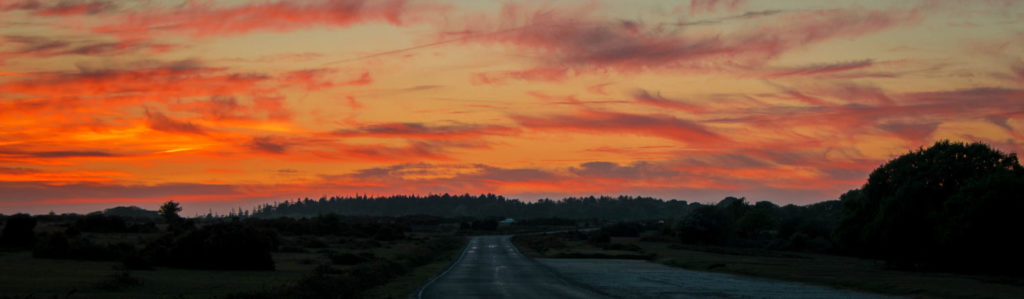 Sunset at Fritham