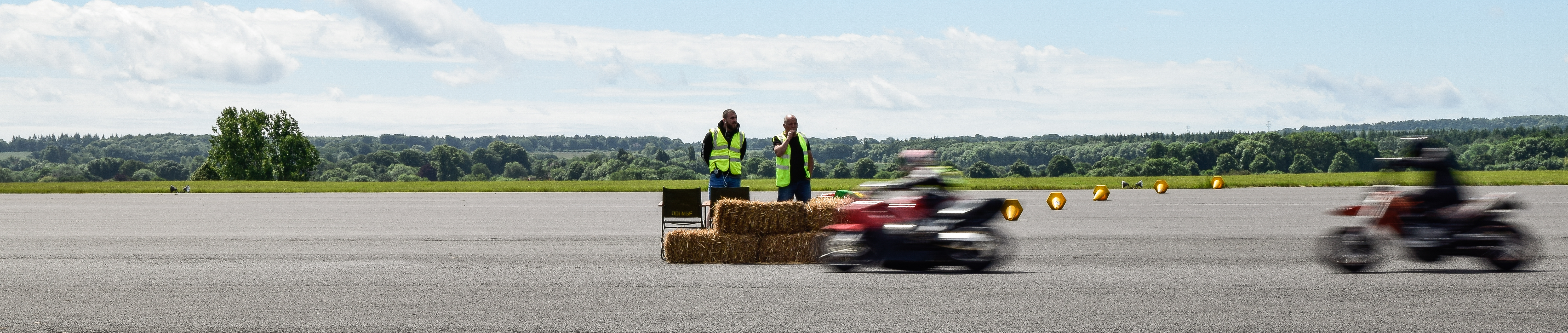 Motorbike racing at Odiham Track Day - Hampshire